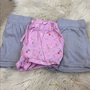 Bundle of 3 4T girls shorts